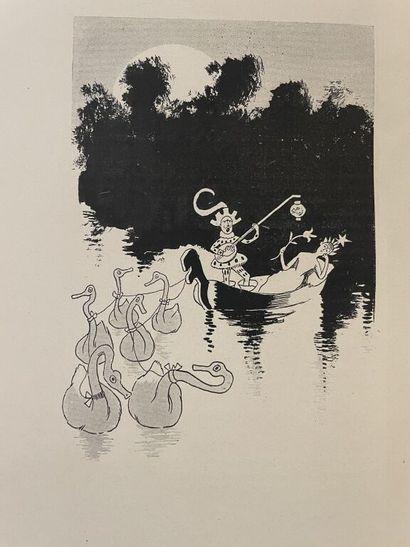 [Caricature]. CARAN D'ACHE. - MILLAUD (Albert)....