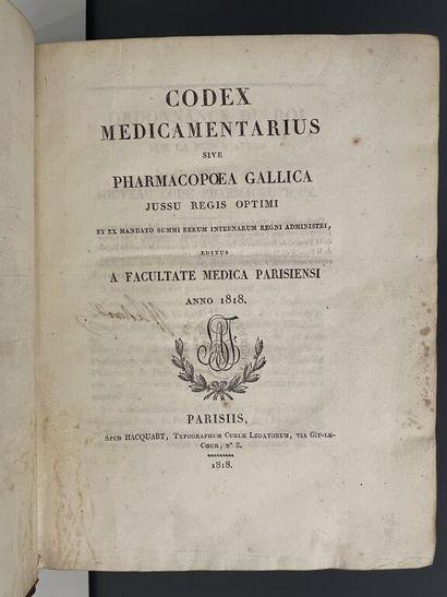 [Pharmacie]. Codex medicamentarius, sive...