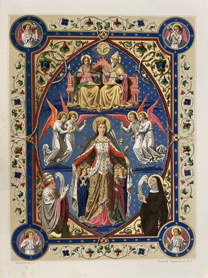 DUTRON (J. B.). La légende de Sainte Ursule,...
