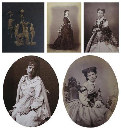 Marie-Alexandre ALOPHE, Joseph Fortuné PETIOT-GROFFIER, Juan LAURENT et divers photographes