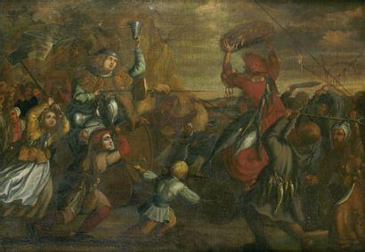 ÉCOLE FRANCAISE VERS 1640.Entourage de Jacques CALLOT.