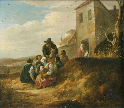 Ecole Hollandaise du XVIIIe siècle.