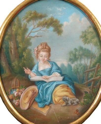 ÉCOLE FRANCAISE DU XIXe SIÈCLE, D'APRÈS FRANÇOIS BOUCHER.