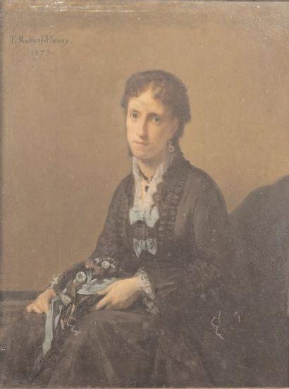 ROBERT-FLEURY, TONY (1837-1912) ATTRIBUÉ À.