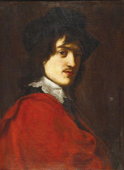 ATTRIBUÉ À JACOB VAN OOST.(1637 - 1713).