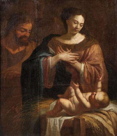 ÉCOLE FRANCAISE VERS 1650, ENTOURAGE DE PHILIPPE QUANTIN.