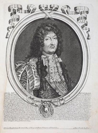 ANONYME Les Augustes représentations de tous les Roys de France depuis Pharamond...