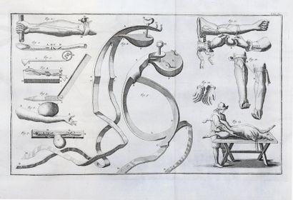 [MEDECINE] D. LAURENTII HEISTERI Institutiones chirurgicae. 2 forts vol. in-4 de...