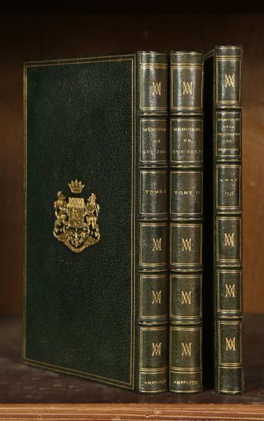 JOLY (Gui) Mémoires de Guy Joly, conseiller au Chatelet, contenant l'histoire de...