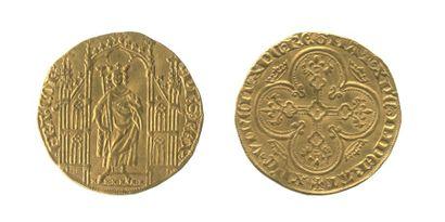 *PHILIPPE VI de Valois. (1328-1350). Royal...