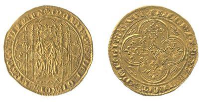 *PHILIPPE VI de Valois. Chaise d'or. Le roi...