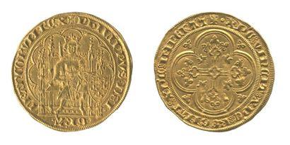 *PHILIPPE VI de Valois. Ecu d'or à la chaise....