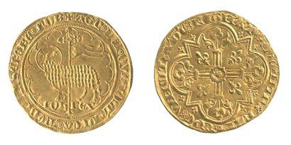 *JEAN le Bon (1350-1364). Mouton d'or. Agneau...