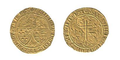 *HENRI VI (1422-1459). Salut d'or. Paris....