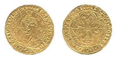*CHARLES VII. (1422-1461) Royal d'or. Le...