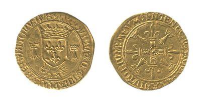 *LOUIS XII (1498-1514). Ecu d'or au porc...