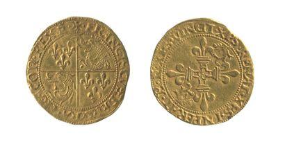 *FRANCOIS Ier (1515-1547). Ecu d'or du Dauphiné....