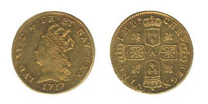 *LOUIS XV (1715-1774). Louis d'or de Noailles....
