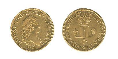 *Louis aux 2L. Lille. 1722. (Dy. 1635, Dr....