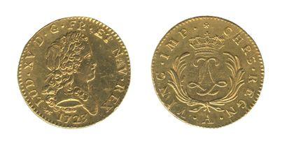 *Double louis mirliton. Paris.1723. (Dr....