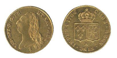 *Double louis au buste nu. Paris. 1786. (Dr....