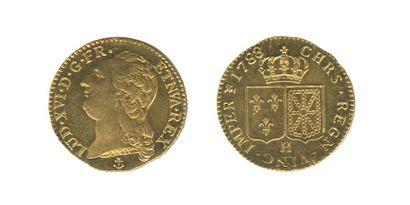 *Louis au buste nu. La Rochelle. 1788. (Dr....