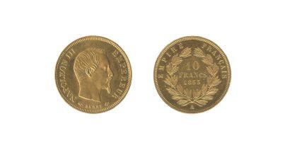 *10 francs, grand module. Paris. 1855. (G.1014)....