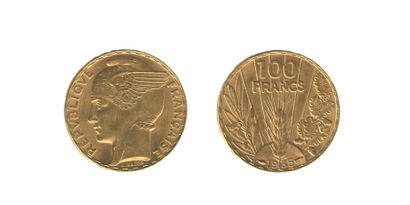 *100 francs Bazor 1935 G. 1148). Très Beau...