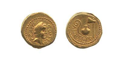 JULES CESAR (44 av. J.C.) et AULUS HIRTIUS...