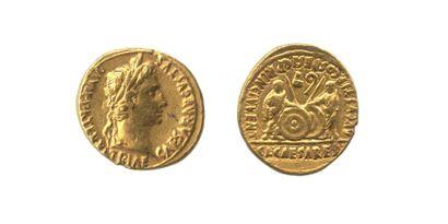 AUGUSTE (27 av J.C. - 14 apr. J.C.). Aureus....