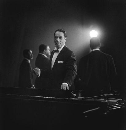 DUKE ELLINGTON  Concert à l'Alhambra, à Paris,...
