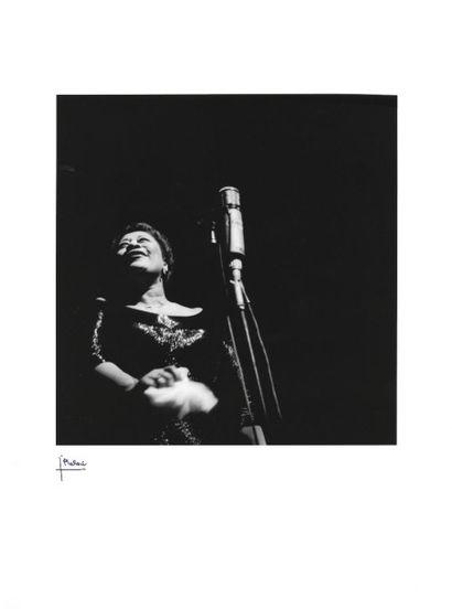 ELLA FITZGERALD  Concert à l'Olympia, à Paris,...