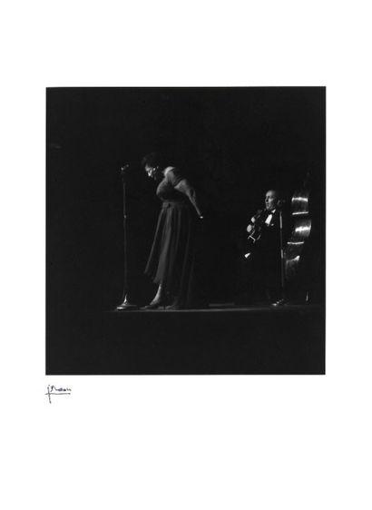 ELLA FITZGERALD  Concert au théâtre des Champs-Élysées,...