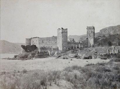 Charles NÈGRE (1820-1880).  Cannes et Château...