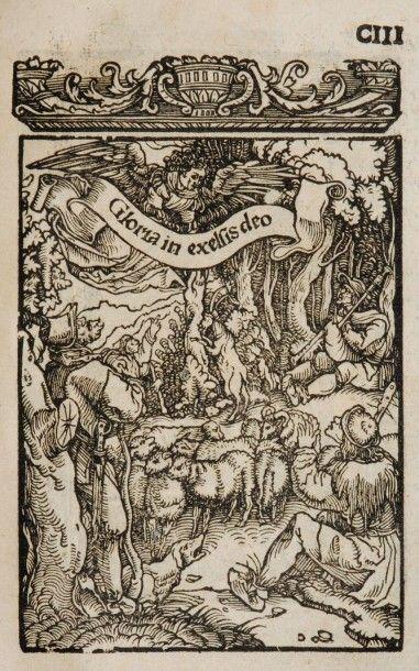 [Bible illustrée. N.T. Allemand. 1529]. [LUTHER...