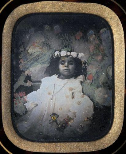 DAGUERRÉOTYPES POST-MORTEM. Portraits post-mortem...