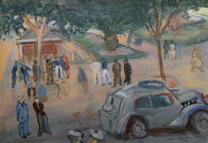 *LAUNOIS Jean (1898-1942). Mort à Alger....