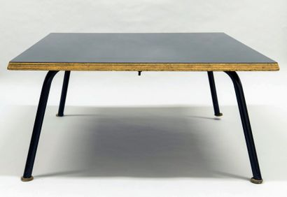 *PERRIAND Charlotte (1903-1999).  Deux tables...