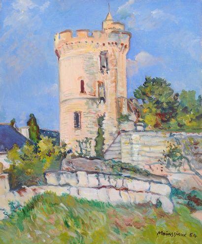 *MAINSSIEUX Lucien (1885-1958).  La tour,...