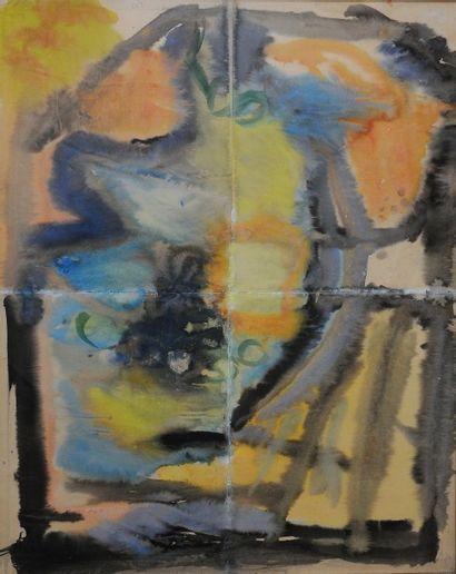 *MARTIN Robert (1915-2002).  Composition,...