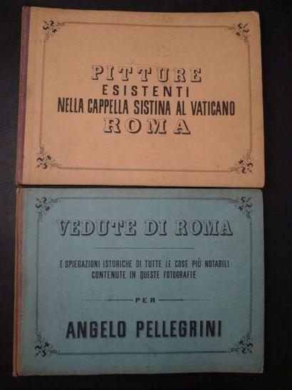 [Rome] [Photographies] PELLEGRINI (Angelo)....