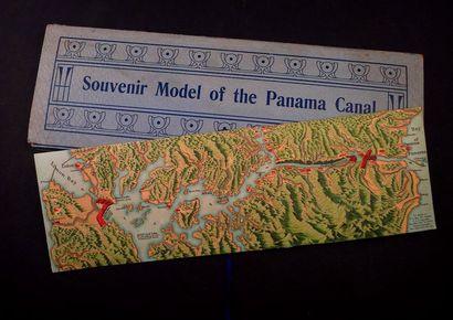 [Panama]. Carte en couleurs et en relief...