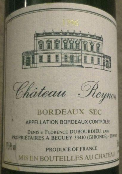 20 Bouteilles Château Reynon - Bordeaux blanc...