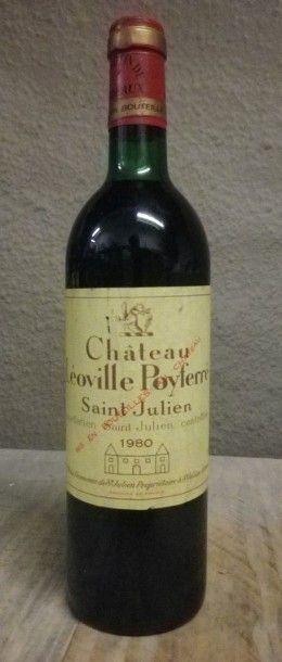 1 Bouteille Château Leoville Poyferre, 1980...