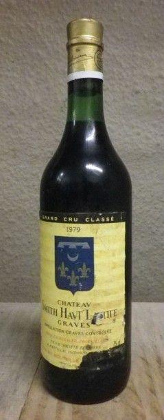 1 Bouteille Château Smith Haut Lafitte, 1979...