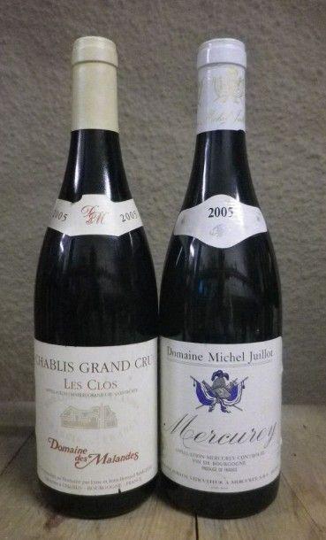 1 Bouteille Mercurey Blanc - Guillot, 20...