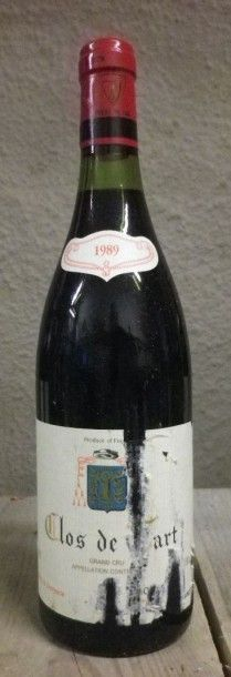 2 Bouteilles Clos de TART - Mommessin, 1989...