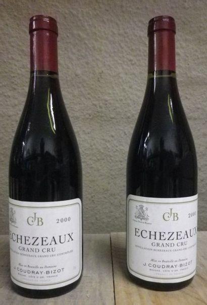 8 Bouteilles Echezeaux - Coudray Bizot, ...