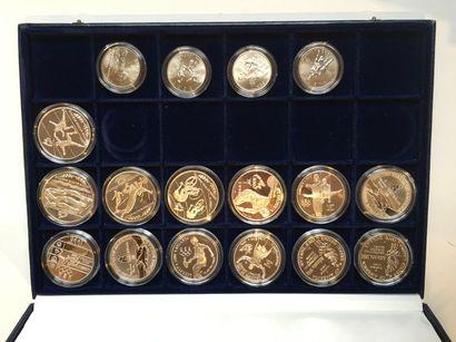 Un coffret de 17 pièces sur les Jeux Olympique...