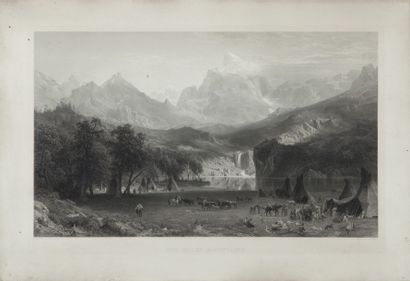 BIERSTADT Albert (1830-1902), d'après, et...